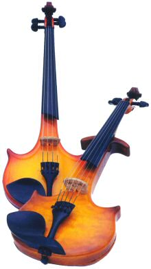 Electric                 violins